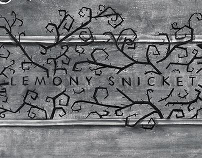 Lemony Snicket Chalkboard