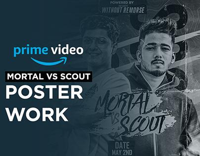 Mortal vs Scout poster