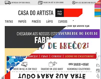 Redesign e-marketing (Casa do Artista)