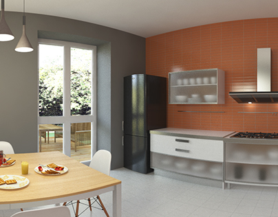 360° VR experience - Kitchen