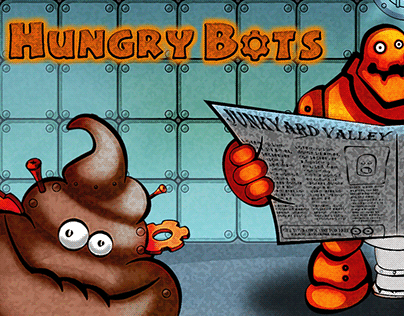 Hungry Bots card game