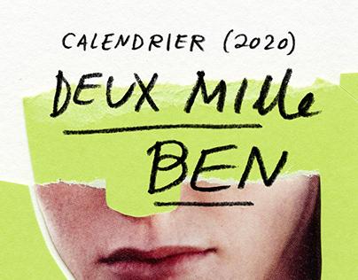 Calendrier 2020 - Deux mille ben
