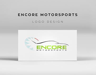 Encore Motorsports Logo Design