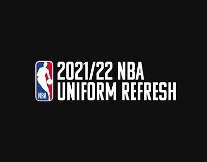 2021/22 NBA Uniform Refresh