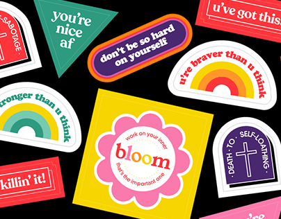 Motivational stickers