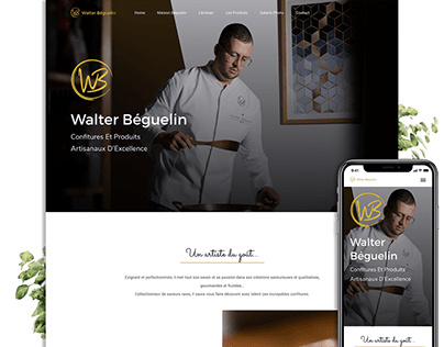Walter Béguelin Website
