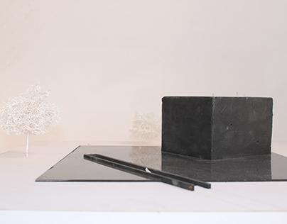 Proyecto UI Materialidad / Pabellón en concreto