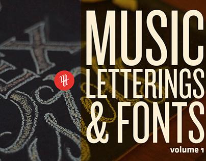Music, Letterings & Fonts vol. 1