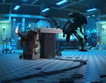 Alien | Lego