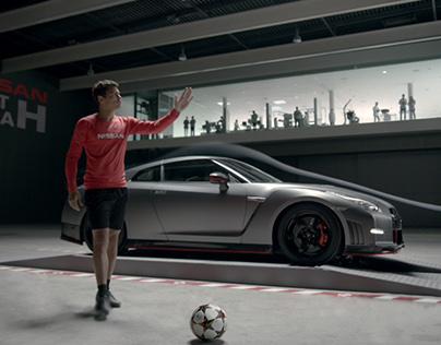 Nissan x Champions League = Genius