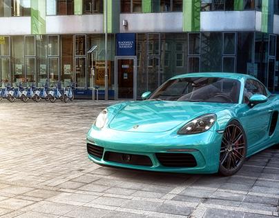 Porsche Cayman S – 001