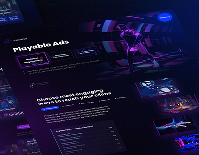 Synthesis (Playable Ads, Neon)
