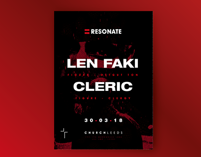 RESONATE PRESENTS LEN FAKI & CLERIC