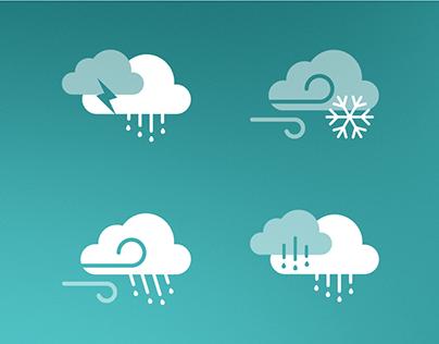 Weather icon kit