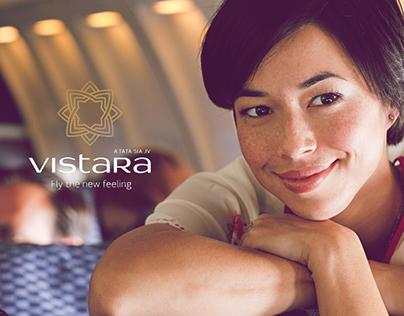 Vistara Redesigned Website
