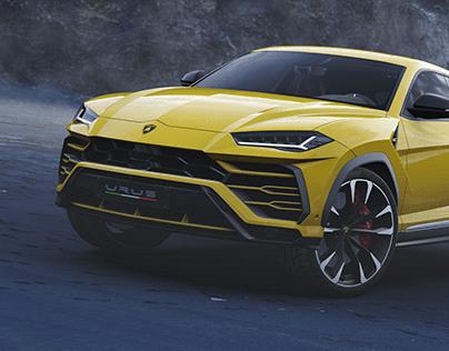 Lamborghini URUS CGI