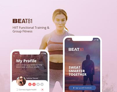 Group Workout UI/UX Design