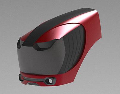 Tractor hood design