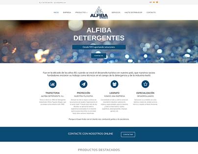 Web de Actual.cat Alfiba