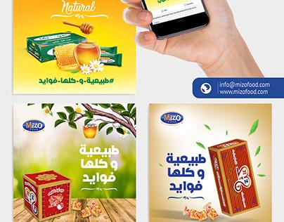 Social Media & Website - Mizo Food ميزو فود