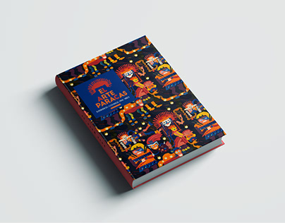 BOOK COVER DESIGN-Arte Paracas-Perú