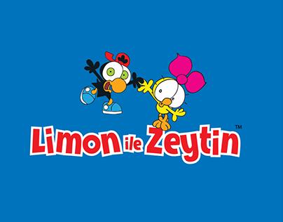 Limon ile Zeytin Arabic logo