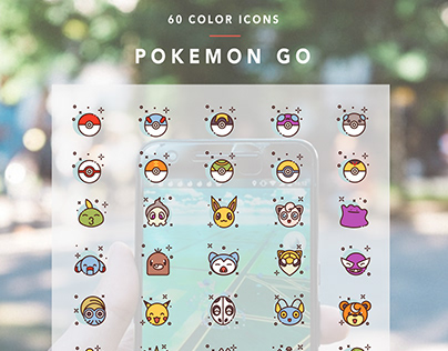 Pokemon Go - Icons