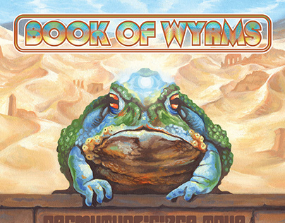 Book of Wyrms Tour Poster