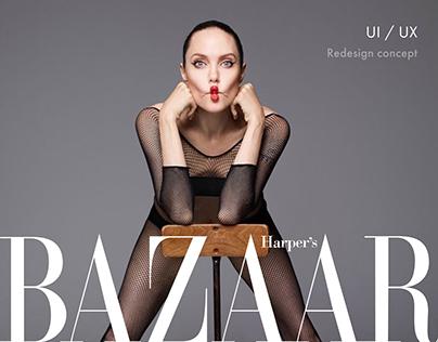 Harper's Bazaar — redesign concept