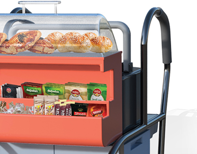 SNACK TROLLEY / Service Cart