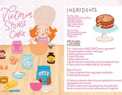 How to Bake a Victoria Sponge Cake