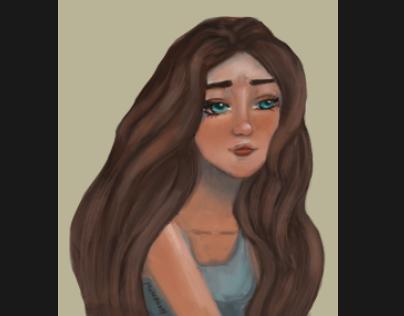 Selfstudy Portrait Girl