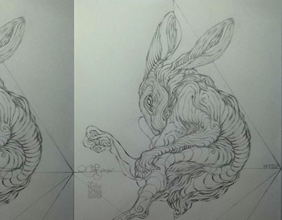 RABBLE | Rabbits | Pattern