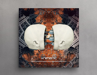Animistic - A stretch of the imagination - Cover