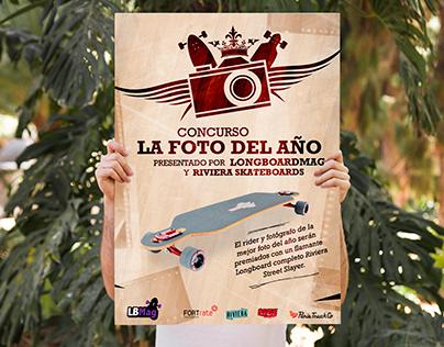 """Poster """"LongboardMag.es"""""""