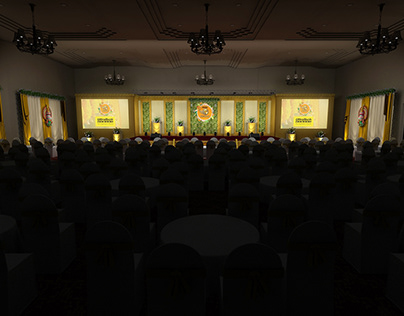 ultratech stage kerala theme