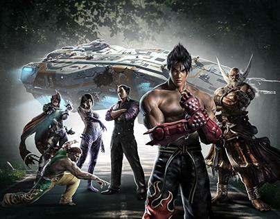 Tekken Sci-fi Manipulation