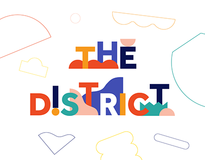 The District mural