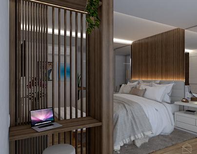 Quarto de casal | Couple's bedroom