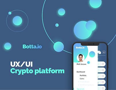 Botta - Crypto platform