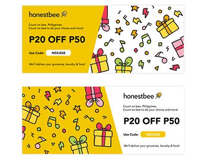 Honestbee voucher