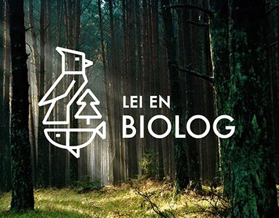 Logo: Lei en biolog
