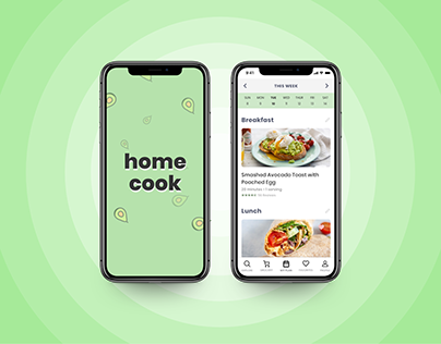 XD Daily Creative Challenge - Meal Planning App