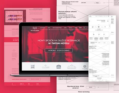 Web App Design, Branding and Website for a B2B Startup.