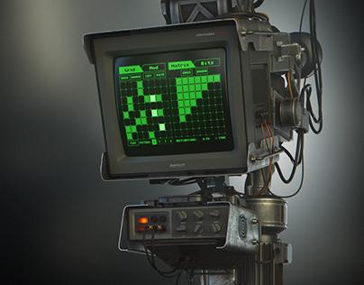 Computer console