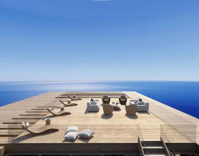 Beachfront Villa by Potiropoulos+Partners