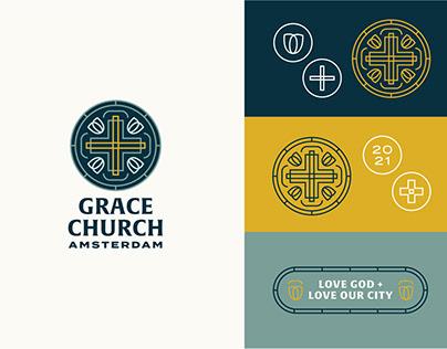 Grace Church Amsterdam Branding