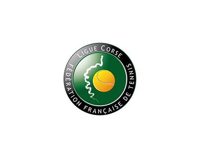 Logo for the corsican tennis league - 2006