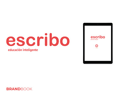 escribo - educación inteligente / Brandbook