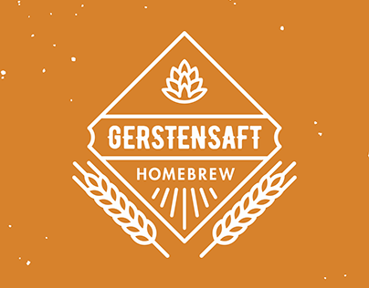 Gerstensaft Homebrew